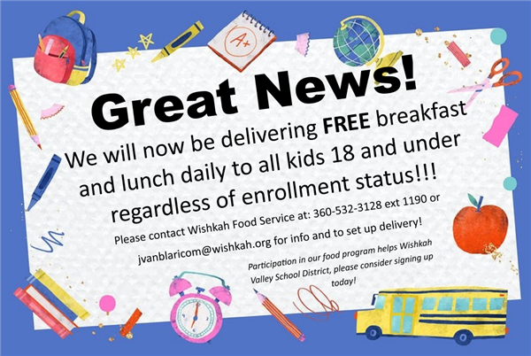 Food Services Update!