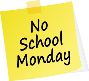 No School - Monday, January 25, 2021