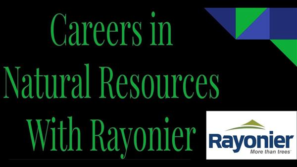 Careers in Natural Resources & Forestry Field Trip with Rayonier