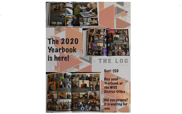 2020 Yearbooks are here!