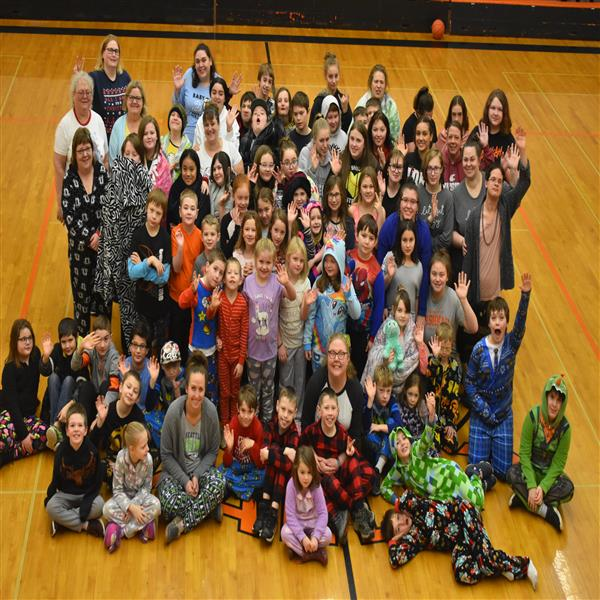Wishkah Valley Pajama Day for the Holidays