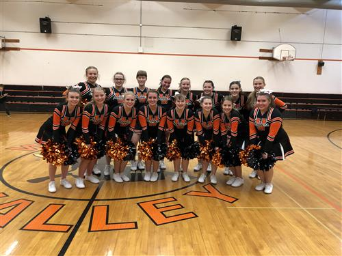 2019-2020 Wishkah Cheerleaders